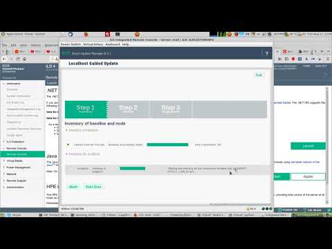 Tutorial on Installing and updating iLO and HP Service Pack for Proliant (SPP) version 2018.06