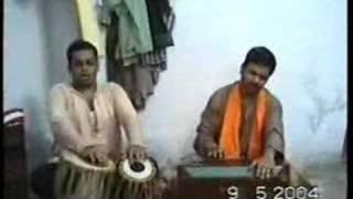 Yogesh Kakade singing Natya geet