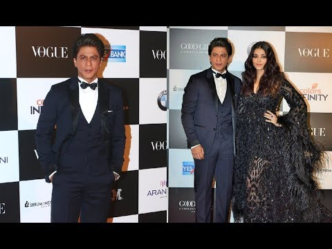 Shahrukh Khan At Vogue Women Of The Year Awards 2017