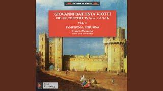 Violin Concerto No. 13 in A Major, G. 65: I. Allegro brillante