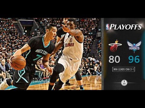 林書豪 Jeremy Lin's Offense & Defense Highlights 2016-04-24 Playoffs R1G3 Heat VS Hornets