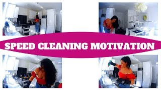 MOTIVATIONAL SPEED CLEANING - CLEANING MOTIVATION 2019