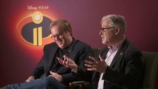 INCREDIBLES 2 - Behind The Scenes with director Brad Bird & John Walker
