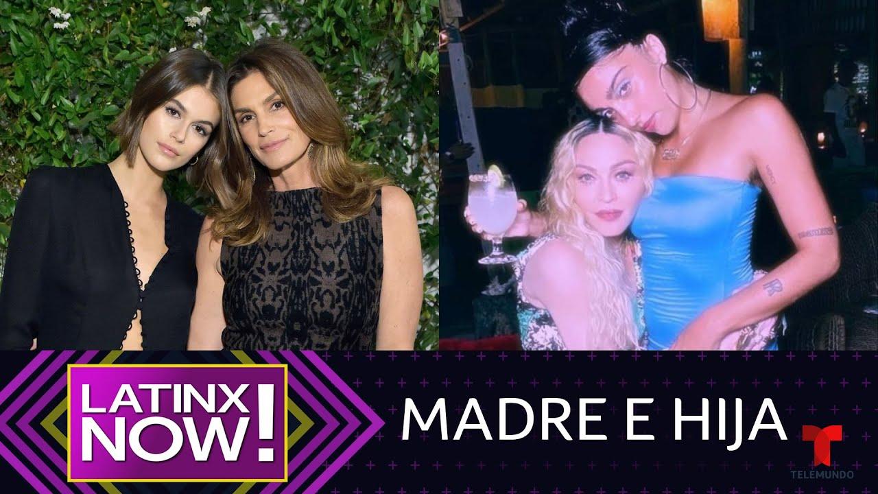 Madonna, Jessica Alba y más famosas que parecen 'twins' de sus hijas | Latinx Now! | Entretenimiento