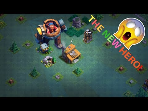 NEW HERO BATTLE MACHINE GAMEPLAY - CLASH OF CLANS   GEMMING TROOPS TO MAX LEVEL( Not Private Server)
