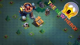 NEW HERO BATTLE MACHINE GAMEPLAY - CLASH OF CLANS | GEMMING TROOPS TO MAX LEVEL( Not Private Server)