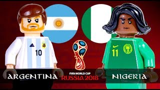 LEGO World Cup 2018 ARGENTINA Vs NIGERIA