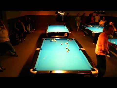 Earl Strickland trickshots at Hartwall Open, Players Billiard & Bar Jyväskylä, Finland