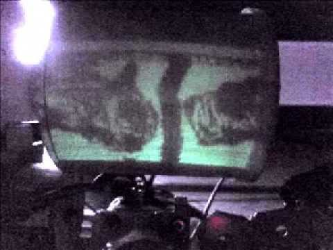 Mechanical Glow drum SSTV sample images