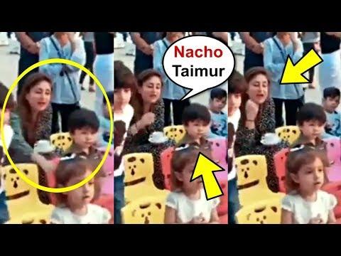 Kareena Kapoor Cheering Son Taimur Ali Khan To Dance At Birthday Party Mp3