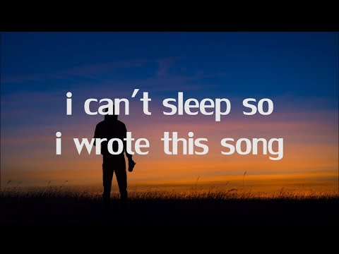 Jay Sek - I Can't Sleep So I Wrote This Song (Lyrics)