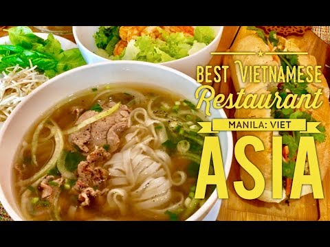 Best Vietnamese Restaurant Manila: Viet Asia Aguirre Avenue BF Homes Sucat Paranaque
