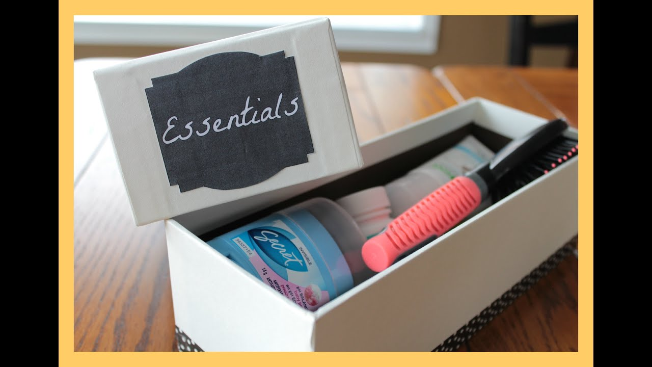 Locker essentials kit back to school quot emergency
