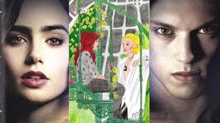 Speed Drawing Jace & Clary