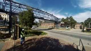 Dra Pedestrian Bridge Construction