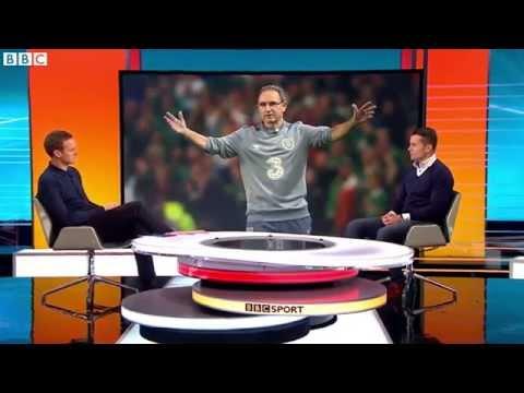 BBC Football Focus - Rep of Ireland v Bosnia & Herzegovina - Shay Given looks ahead (15/11/15)
