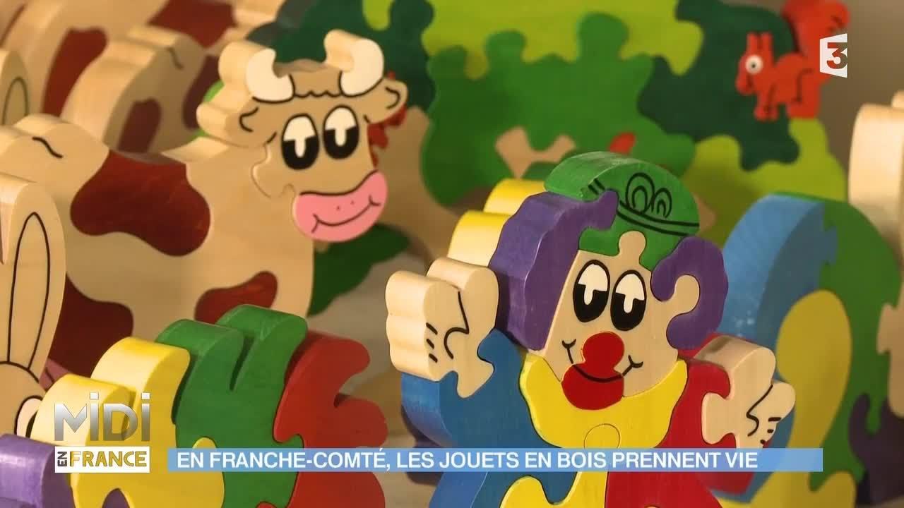 MADE IN FRANCE  En FrancheComté, les jouets en bois  ~ Jouet En Bois Made In France