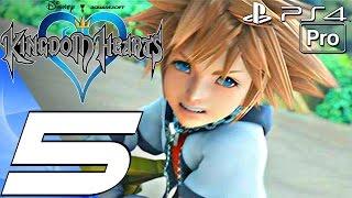 Kingdom Hearts 1 HD - Gameplay Walkthrough Part 5 - Agrabah (PS4 PRO)