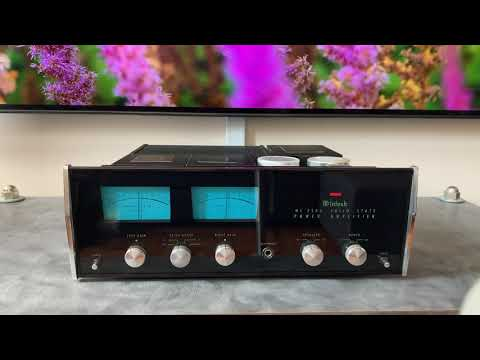 Novalux Strereophonic McIntosh MC2505 Overview and Restoration Outline