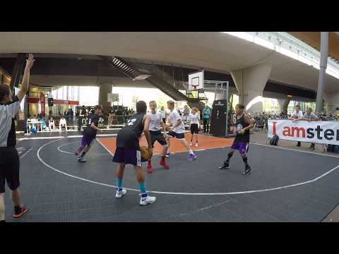 Concrete Lions Force vs Open Run U12 - Streetball Finals 2017