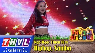 thvl  thu tai sieu nhi - tap 3 hiphop samba - ngo ngoc thien kim