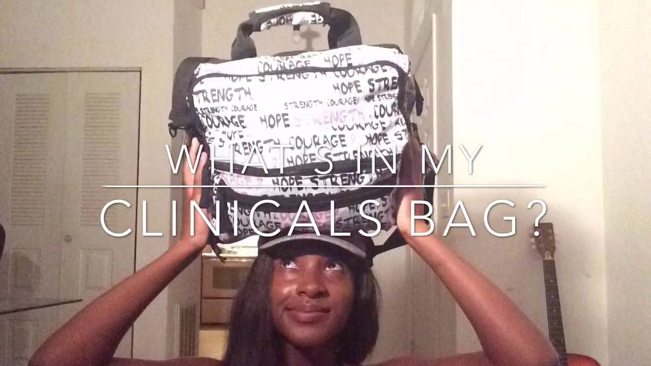 What S In My Clinical Bag