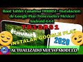 Root Tablet Canaima TR10RS1/TR10CS1 NUEVO 2, Google Play Store, SuperSU, Gmail, Solucion Error OEM