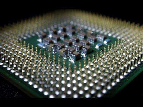 How a CPU is made