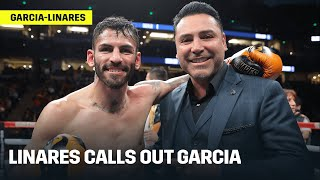 Jorge Linares Calls Out Ryan Garcia For Fight In May/June