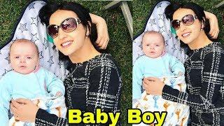 Shocking : Tv Actress Sanaya Irani BLESSED WITH BABY BOY  First Look