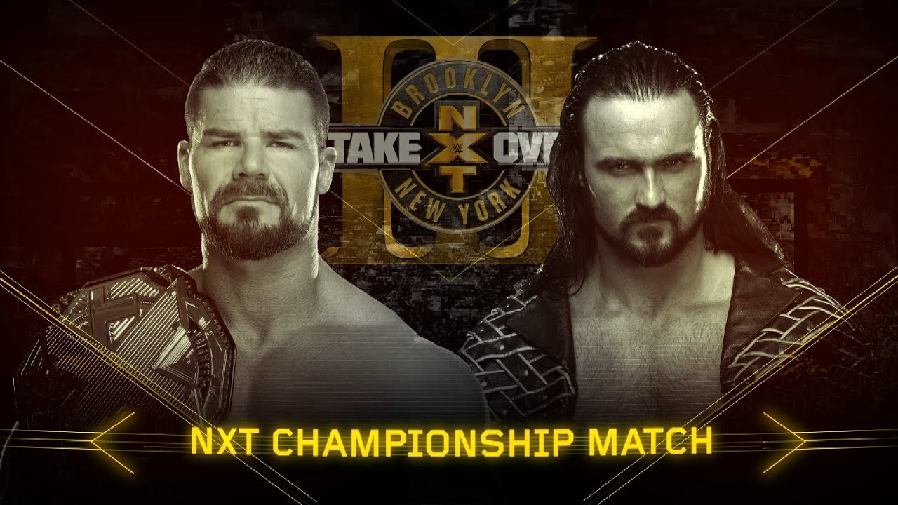 Download Drew McIntyre is out to fulfil a prophecy against NXT Champion Bobby Roode at Takeover: Brooklyn III