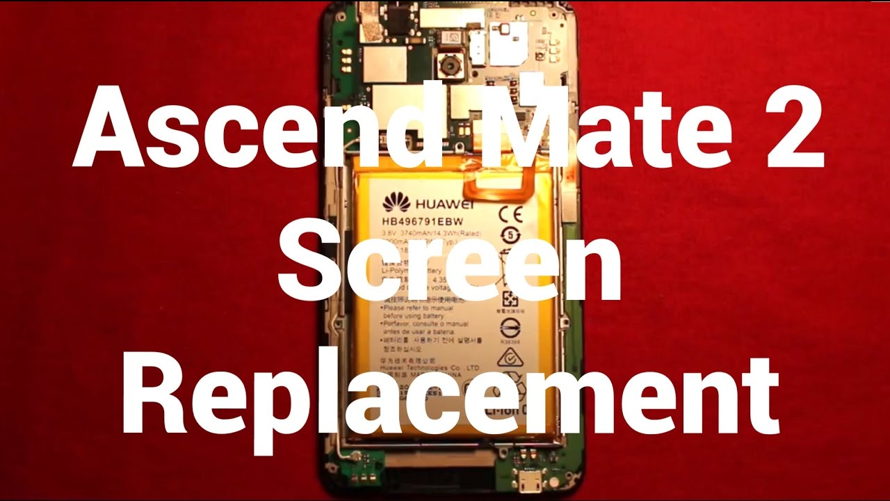 Huawei Ascend Mate 2 Screen Replacement Repair How To Change