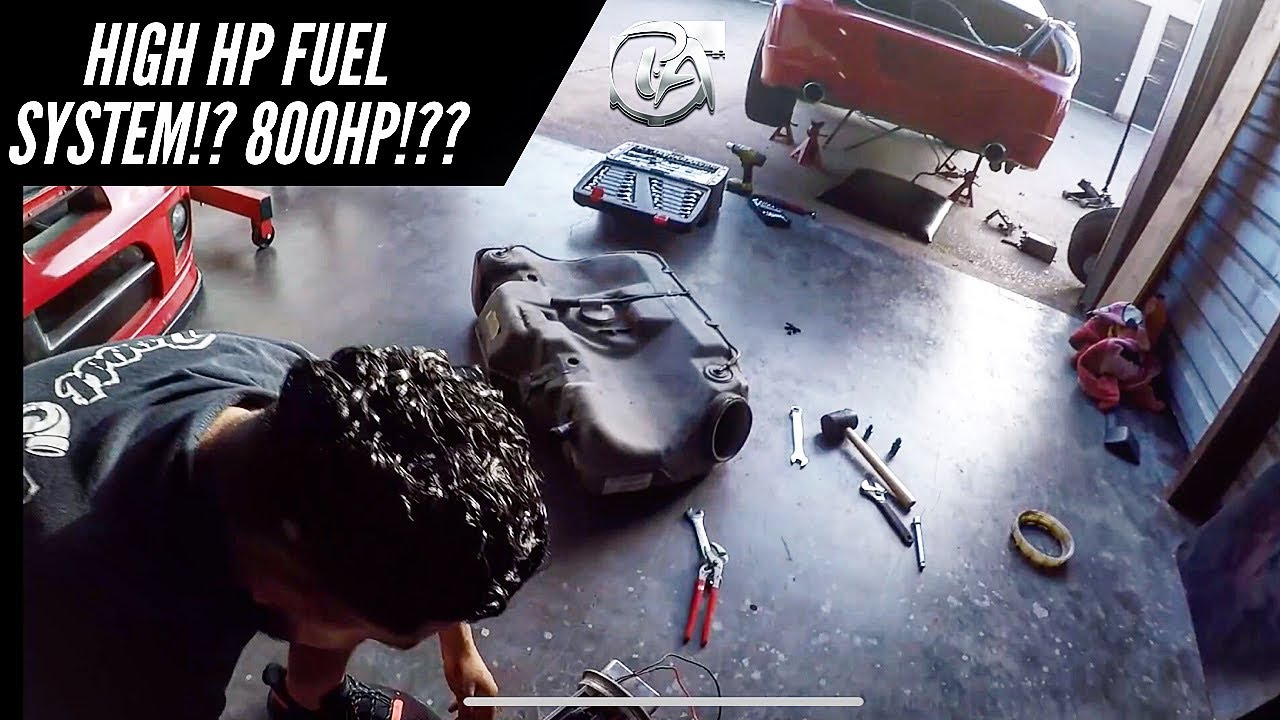 THIS FUEL SYSTEM CAN HANDLE 800 HP!? | SISTEMA DE GAS CAPACITADO PARA 800 CABALLOS!?