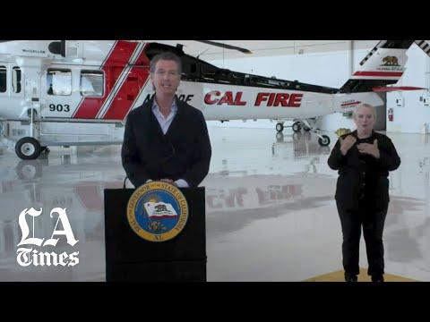 Newsom details new precautions for wildfire evacuations amid COVID-19 pandemic