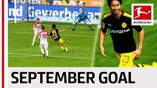 Goal of the month - september - 2017/18 season