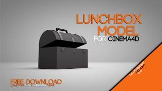 CINEMA4D FREE LunchBox model DOWNLOAD
