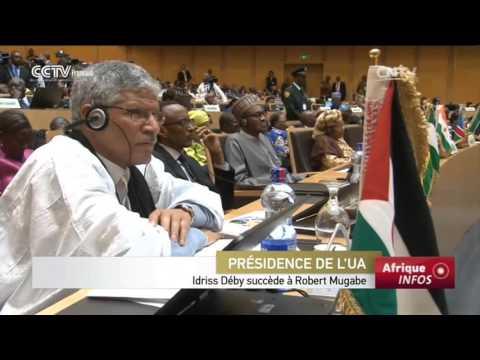 Idriss Déby succède à Robert Mugabe