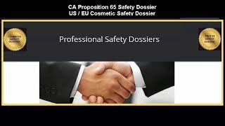 Professional Safety Dossiers