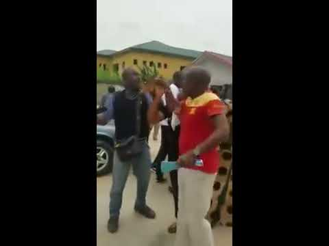 Church Members Attack Journalists In Court For Covering Their Pastor's Case (Watch Video)
