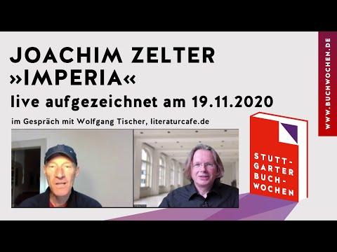 Joachim Zelter: »Imperia« auf den Stuttgarter Buchwochen 2020