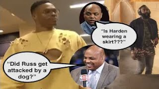 Charles Barkley Roasting Star Players Outfits (ft. Russell Westbrook and James Harden)