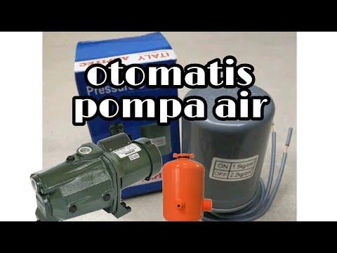 Cara Pasang Otomatis Shimizu Jet 108 Bit Otomatis Pompa Air Shimizu Jet 108bit Youtube