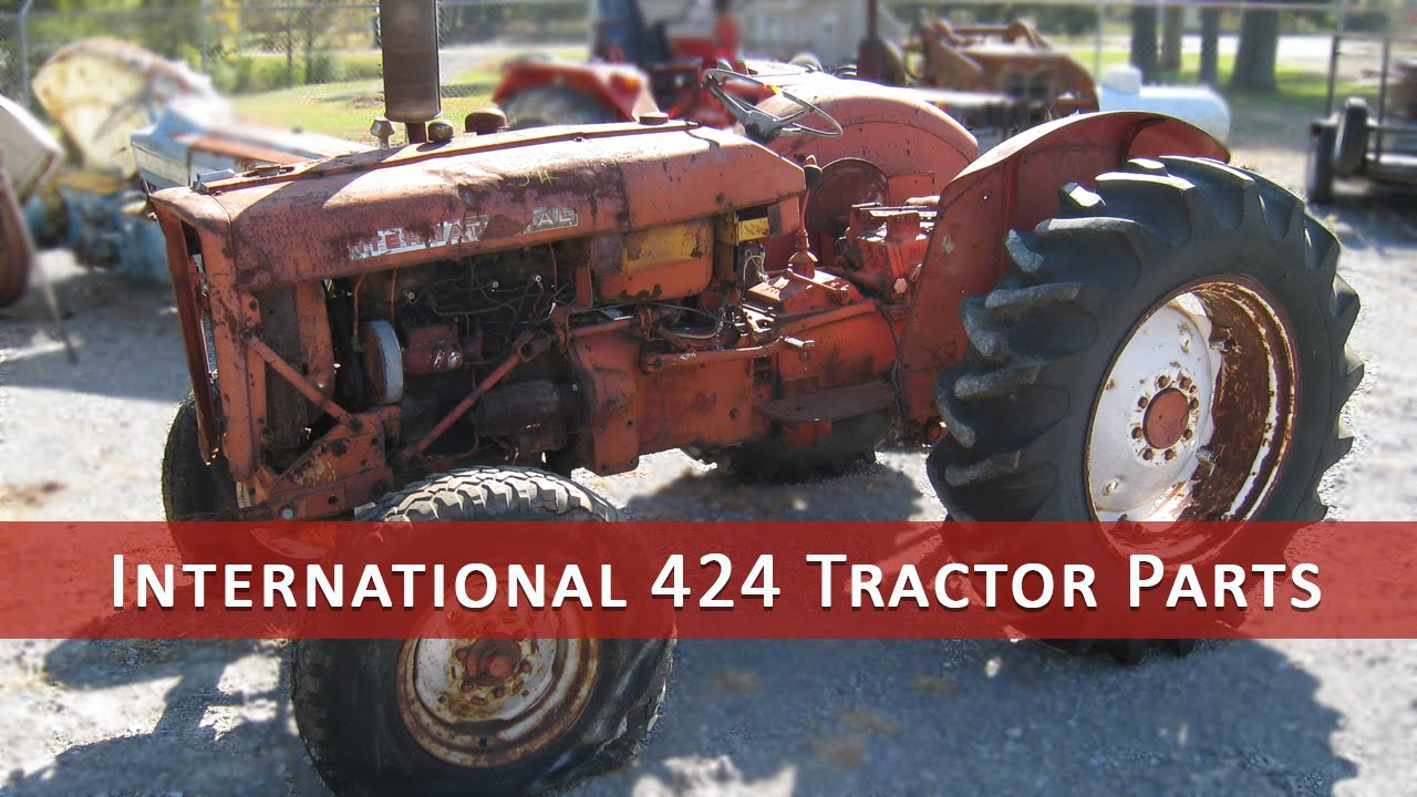 International Tractor Salvage Yard : International tractor parts youtube