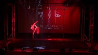 Lisa Dee  - Guest Performer -  West Australian Pole Championships 2016