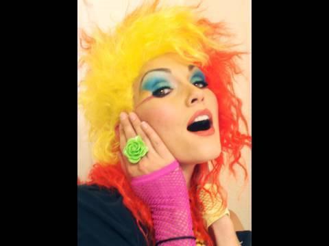 Cyndi Lauper (80's rocker) Costume Make-Up - by kandee | Kandee Johnson