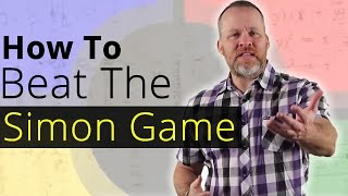 How To Beat The Simon Says Memory Game