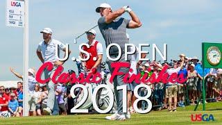 U.S. Open Classic Finishes: 2018