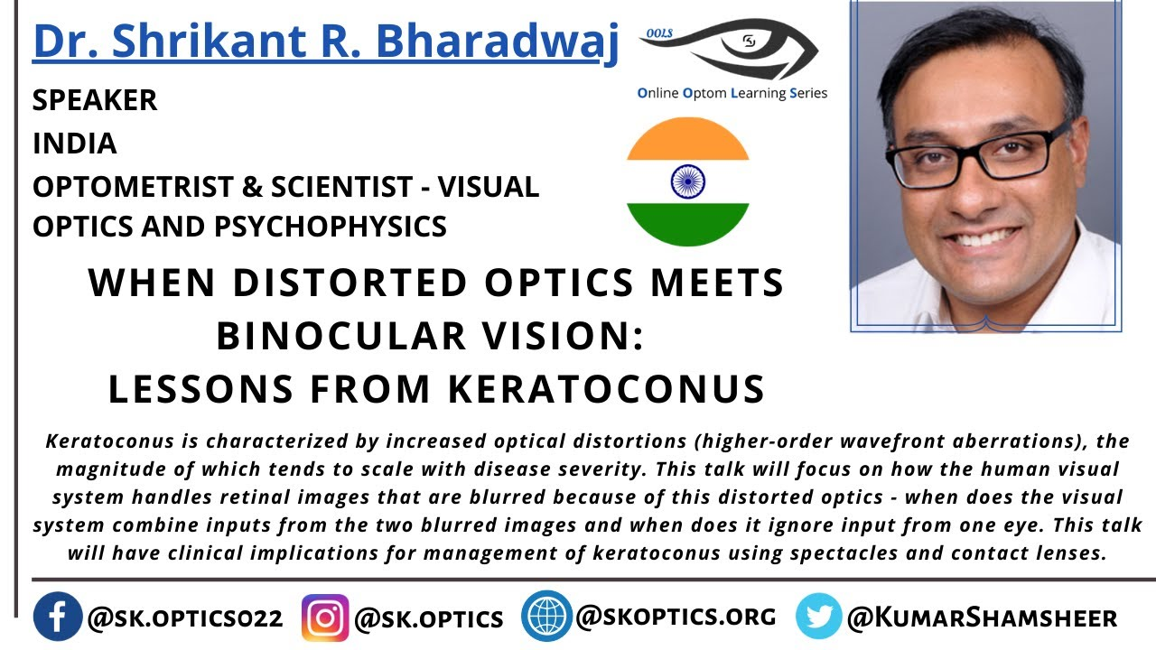 When Distorted Optics meets Binocular Vision: Lessons from Keratoconus | OOLS |