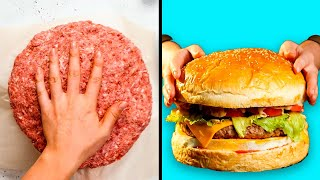 5-Minute Recipes - 29 KITCHEN HACKS THAT WILL SHAKE YOU TO THE CORE || Giant Food Challenge by 5-MInute Recipes! - VIDEOOO