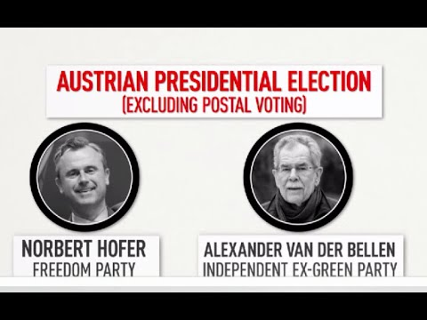 Far-right Hofer loses Austria presidential elex despite initial success
